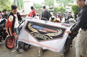 Komunitas Bikers Honda Cari berkah di Bulan Ramadhan