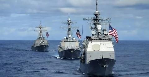 AS Kirim Dua Kapal ke Selat Taiwan