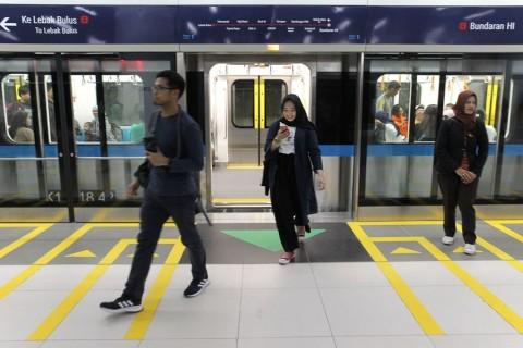 MRT Hanya Beroperasi Sampai Dukuh Atas
