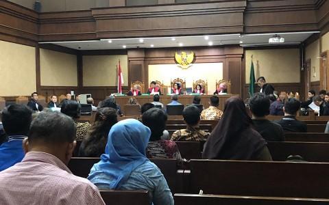 Tiga Penyuap Pejabat PUPR Diganjar Tiga Tahun Penjara