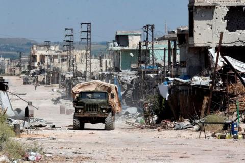 Serangan Udara Suriah Tewaskan 15 Warga Sipil