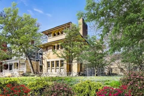 Rumah 122 Tahun Peninggalan Frank Lloyd Wright Dijual