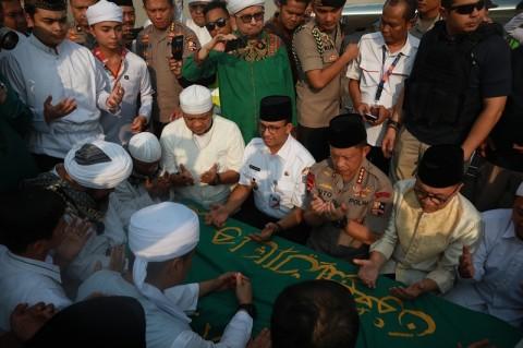 Menteri Agama Sebut Arifin Ilham Sebagai Tokoh Besar