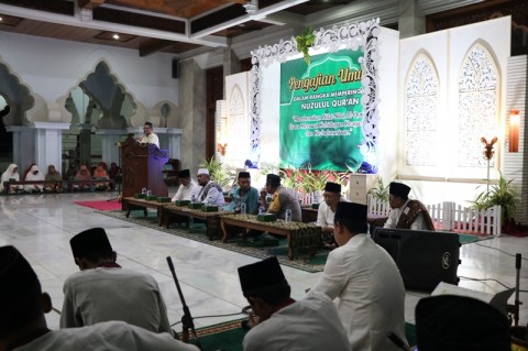 Nuzul Alquran, Momentum Jaga Kerbersamaan dalam Keberagaman