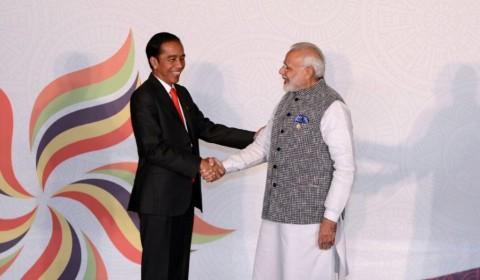 Jokowi Ucapkan Selamat ke Narendra Modi