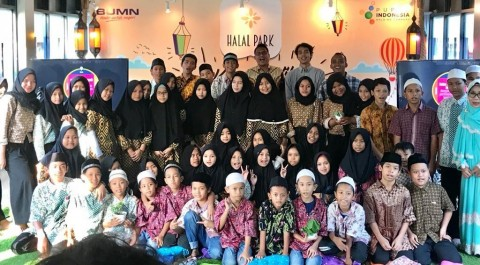 Pupuk Indonesia Usung <i>Urban Farming</i> di Halal Park