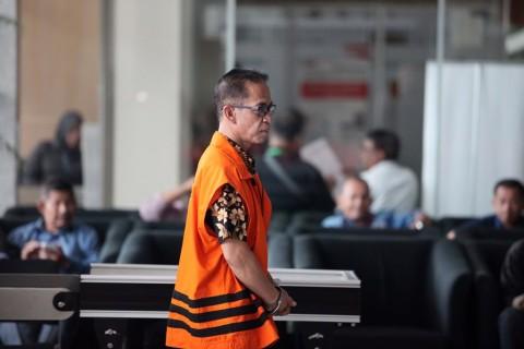 Bupati Mesuji Dipindah ke Rutan Polda Lampung