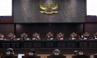 Sengketa Pilpres Ditangani Seluruh Hakim MK