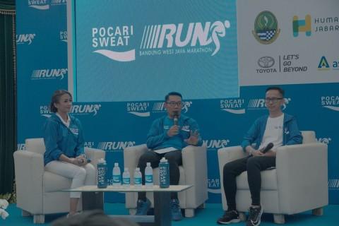 Ridwan Kamil Restui Pocari Sweat Run Bandung 2019