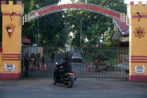 Pos Jaga Mako Brimob Purwokerto Ditembak Orang tak Dikenal