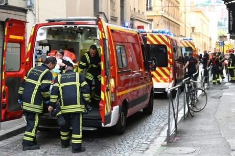 Ledakan Guncang Lyon Prancis, 13 Orang Terluka
