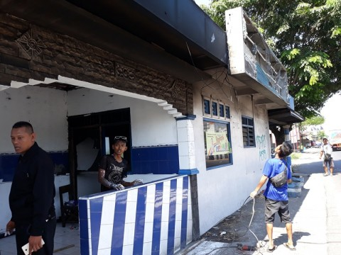 Pos Polisi di Klaten Dibakar OTK