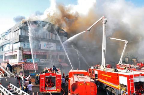 19 Siswa Tewas dalam Kebakaran di India