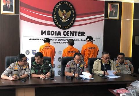 Polisi Selidiki Penembakan Pos Mako Brimob Purwokerto