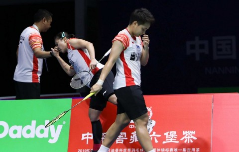 Greysia/Apriyani Tumbang, Indonesia Gagal Lolos Final