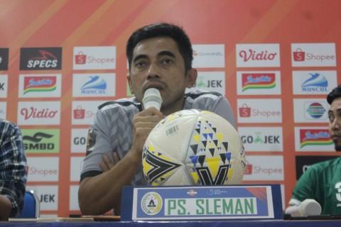 Evaluasi Pelatih Usai PSS Sleman Diimbangi Semen Padang