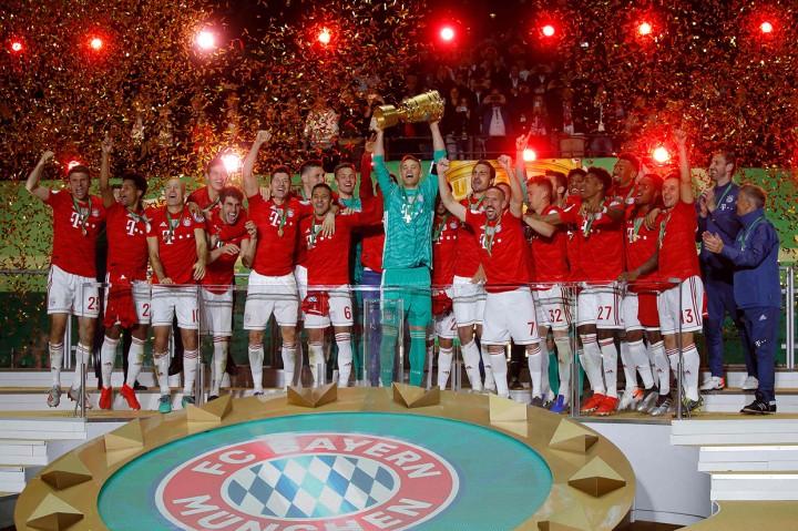 Libas Leipzig 3-0, Bayern Munchen Juara DFB Pokal