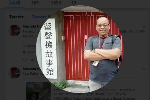 Mustofa Nahrawardaya Tersangka Kasus Hoaks