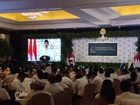 Jokowi Sebut Ketua Hipmi Berpotensi Jabat Menteri
