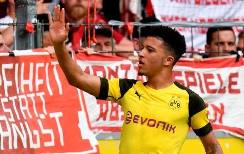 Borussia Dortmund Belum Tertarik Jual Jadon Sancho