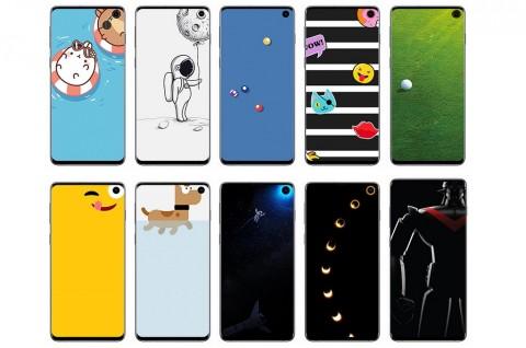 Gaet Disney dan Pixar, Samsung Rilis Wallpaper Khusus Galaxy S10