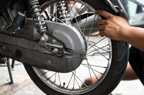 Pengecekan Ban Sepeda Motor Pra-Mudik, Wajib Cek Tiga Hal ini