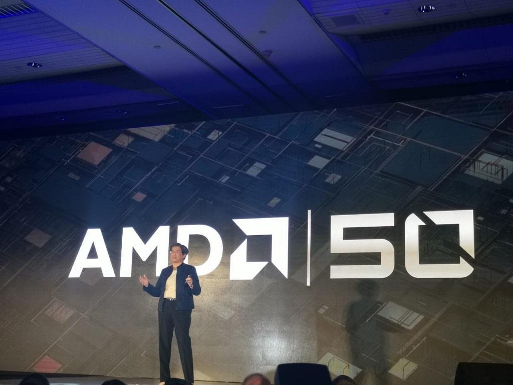 CEO AMD Lisa Su dalam pembukaan Computex 2019