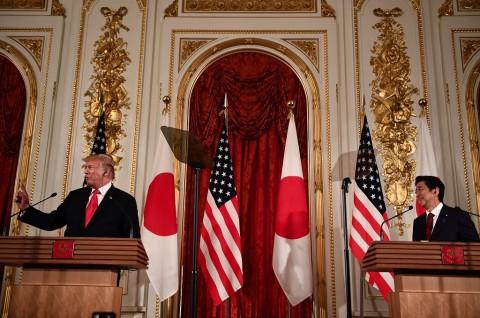 PM Abe Didukung Trump untuk Bertemu Kim Jong-un