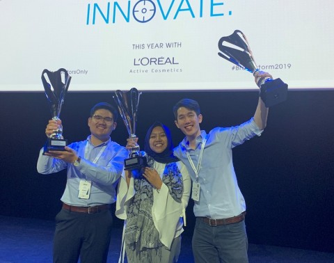 Tim Phoenix ITB Raih Intrapreneurship Award 2019