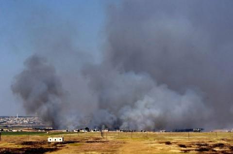 Bombardir Pemberontak, Pasukan Suriah Rebut Kota Kafr Nabuda