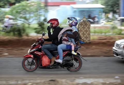 Enam Jurus Aman Mudik dengan Sepeda Motor