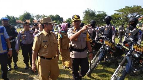 Ratusan Polisi Bersiaga di Jalur Mudik Cirebon