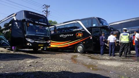 Dishub Jepara <i>Ramp Check</i> Bus Jelang Mudik