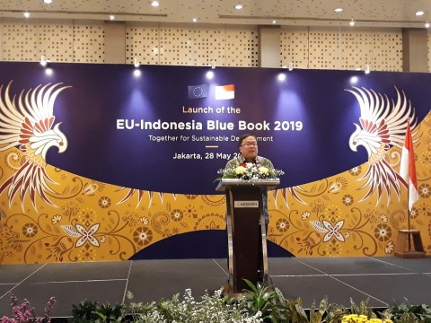 Luncurkan Blue Book 2019, Uni Eropa-RI Tak Bahas Sawit