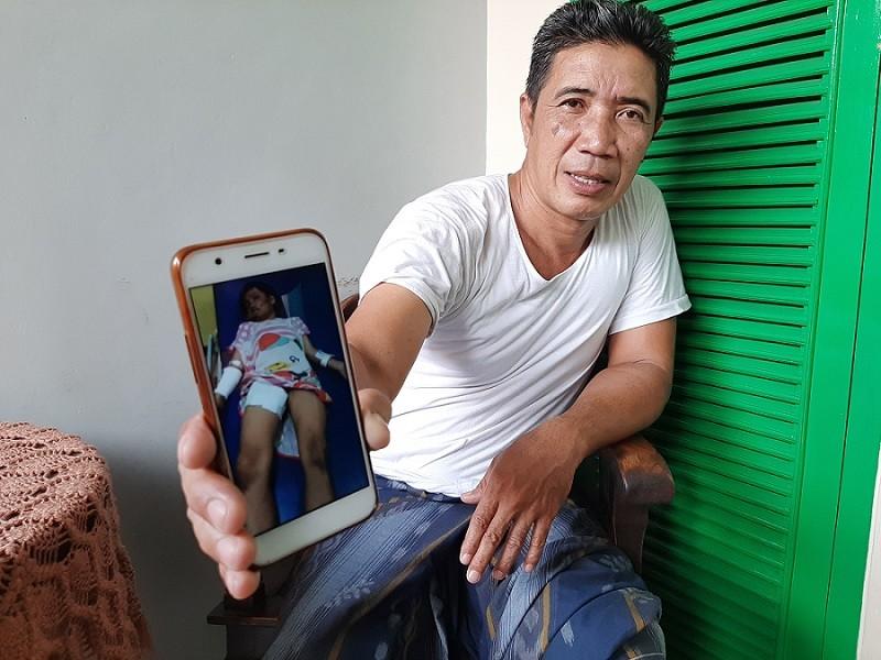 Image result for Anak dianiaya ibu angkat di Depok