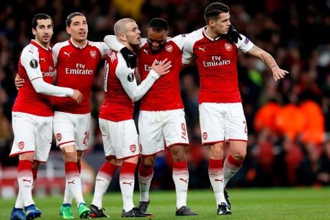 Xhaka Berjanji Bawa Pulang Trofi Liga Europa untuk Mkhitaryan