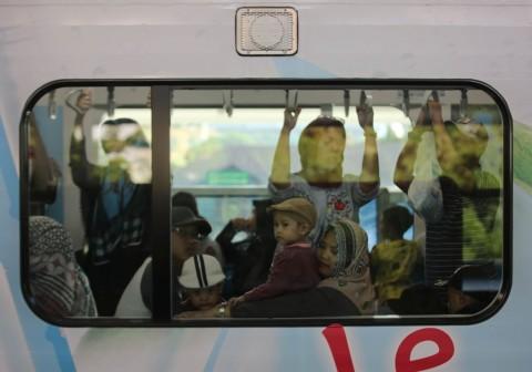 Penumpang MRT Turun 50% saat Rusuh 22 Mei