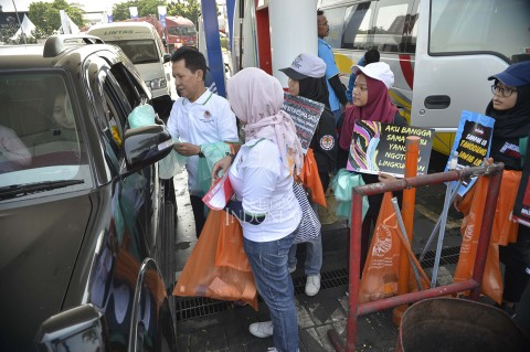 KLHK Ajak Warga Mudik Tanpa Sampah Plastik