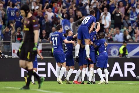 Lumat Arsenal, Chelsea Dapatkan Trofi Europa League