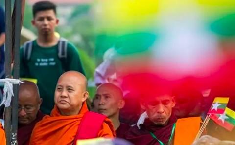 Menghasut, Biksu Radikal Myanmar Diperintahkan Ditangkap
