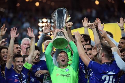 Hajar Arsenal 4-1, Chelsea Juara Liga Europa