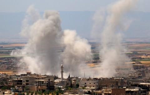 Warga Sipil Berjatuhan dalam Serangan Pemerintah Suriah di Idlib