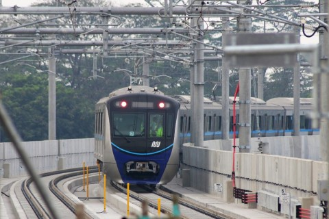 MRT Hanya Operasikan 7 Kereta saat Lebaran