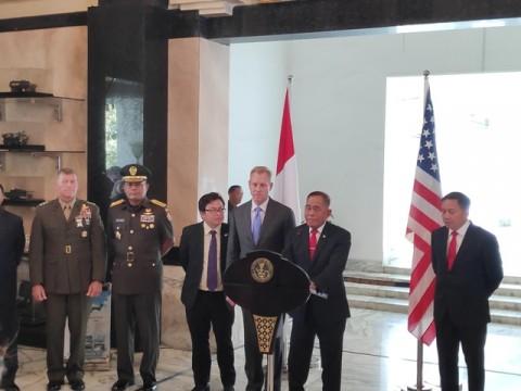 Indonesia-AS Bahas Terorisme Hingga Laut Cina Selatan