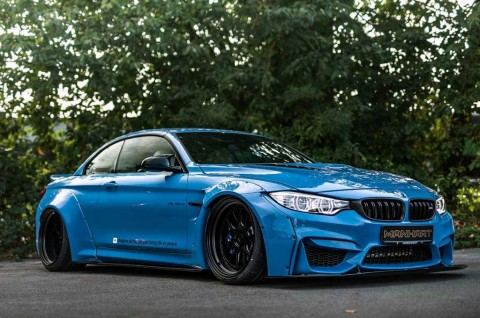 BMW M4 Convertible Bertenaga Buas Garapan Manhart Performance
