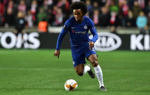 Willian <i>Curhat</i> Usai Chelsea Raih Gelar Liga Europa
