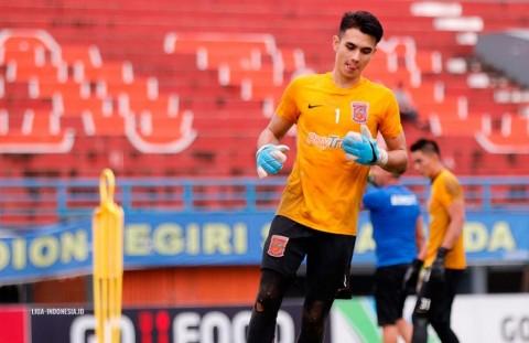 Kiper Borneo FC Rela Lewati Momen Lebaran Tanpa Keluarga