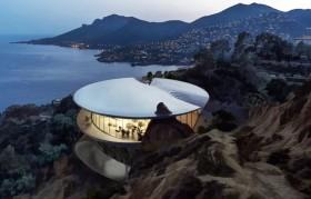 Rumah Batu dengan Desain Aerodinamika