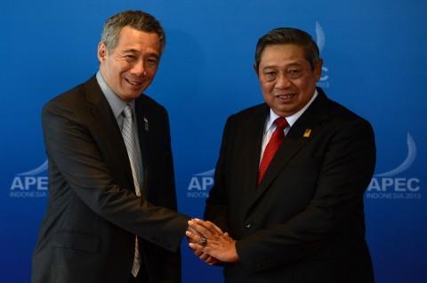 Surat Duka Singapura untuk Keluarga SBY