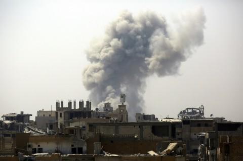 Ledakan di Markas Kurdi Suriah Tewaskan 10 Orang